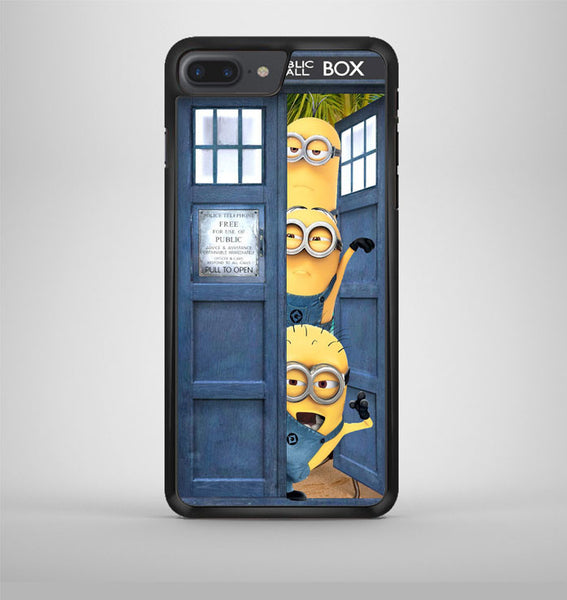 Despicable Me Minion Spiderman Dr Who Tardis iPhone 7 Plus Case Avallen