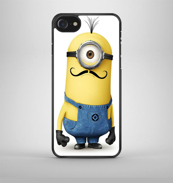 Despicable Me Minion with Cute Mustache iPhone 7 Case Avallen