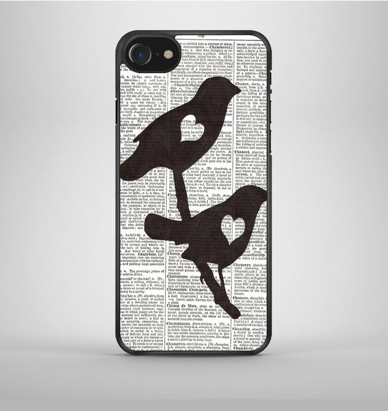 Dictionary Bird Love iPhone 7 Case Avallen