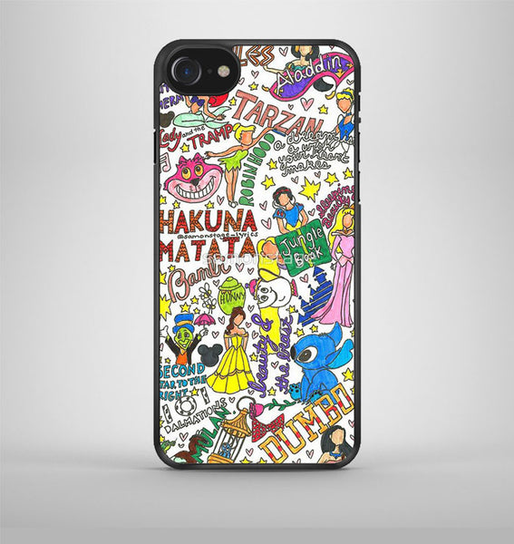Disney Collage Art 2 iPhone 7 Case Avallen