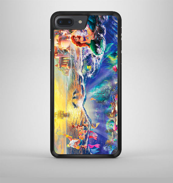 Disney Little Mermaid Art Design iPhone 7 Plus Case Avallen