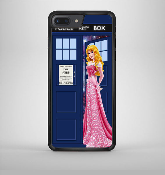 Disney Princess Aurora Tardis Police Box iPhone 7 Plus Case Avallen