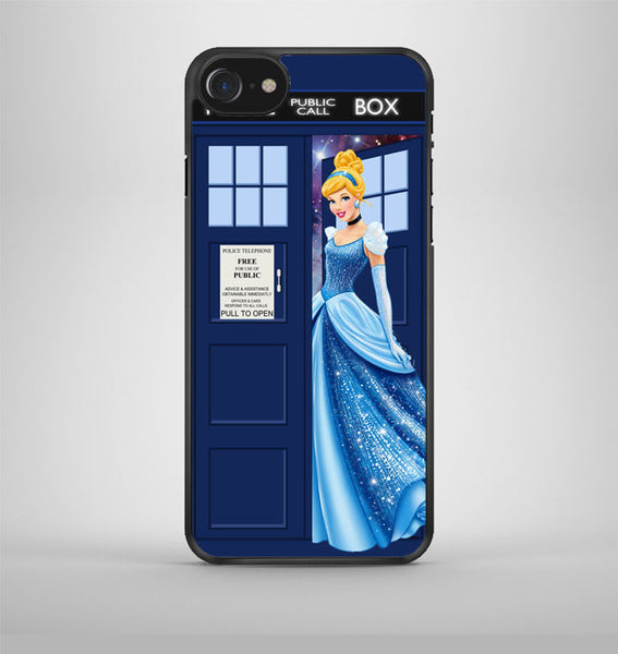 Disney Princess Cinderella Tardis Police Box iPhone 7 Case Avallen