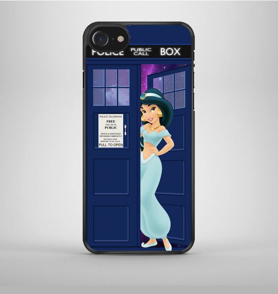 Disney Princess Jasmine Tardis Police Box iPhone 7 Case Avallen