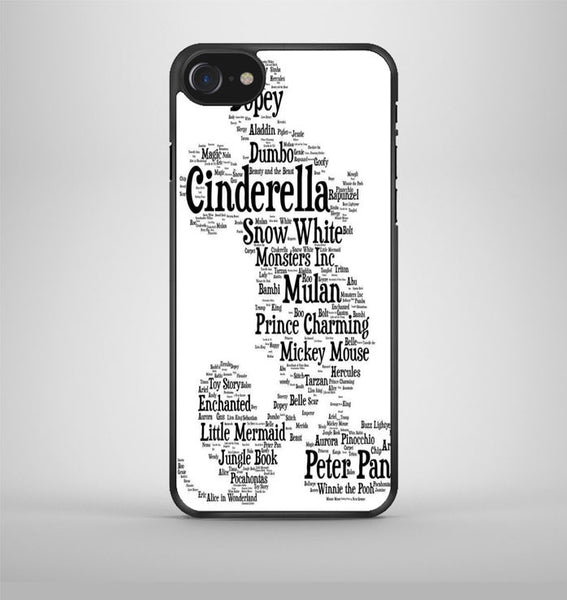 Disney Words Collage iPhone 7 Case Avallen
