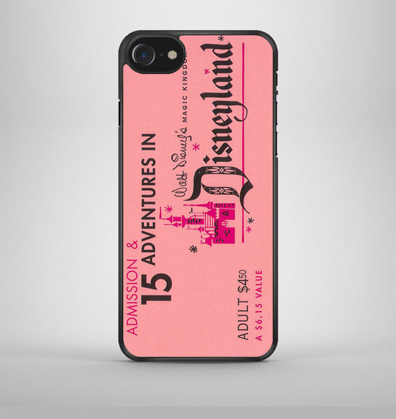 Disneyland Ticket iPhone 7 Case Avallen