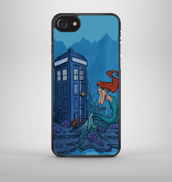 Dr Who Tardis Ariel The Little Mermaid iPhone 7 Case Avallen