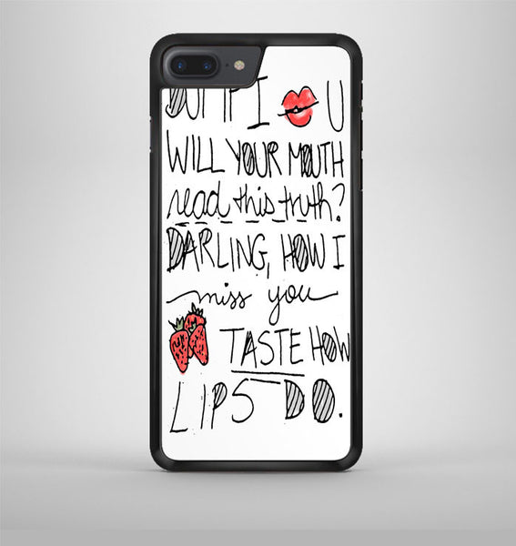 Ed Sheeran Little Bird Lyric Cover iPhone 7 Plus Case Avallen