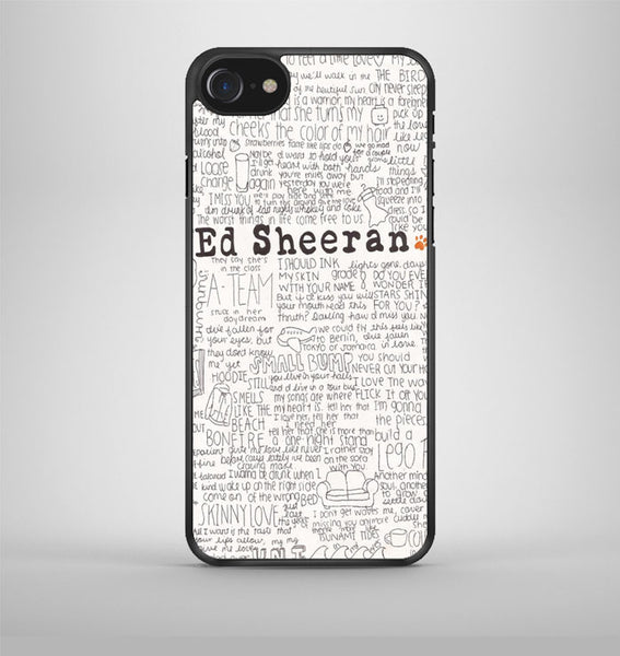 ed sheeran iPhone 7 Case AV