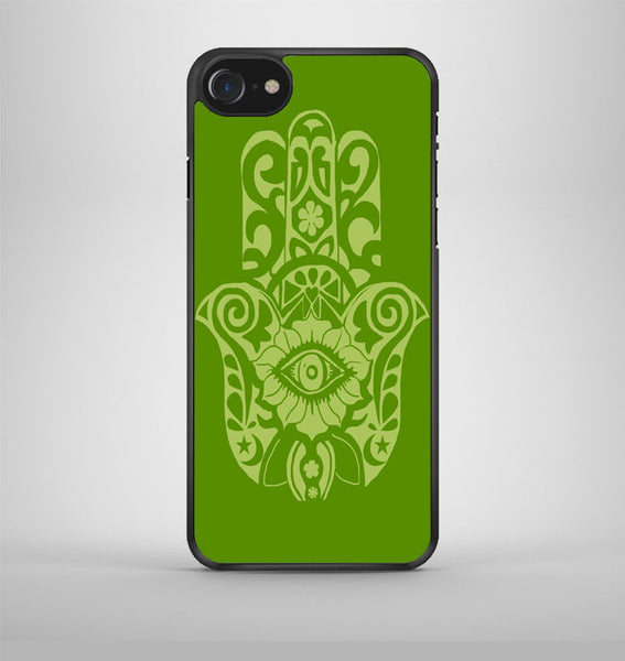 evil eye hamsa iPhone 7 Case Avallen