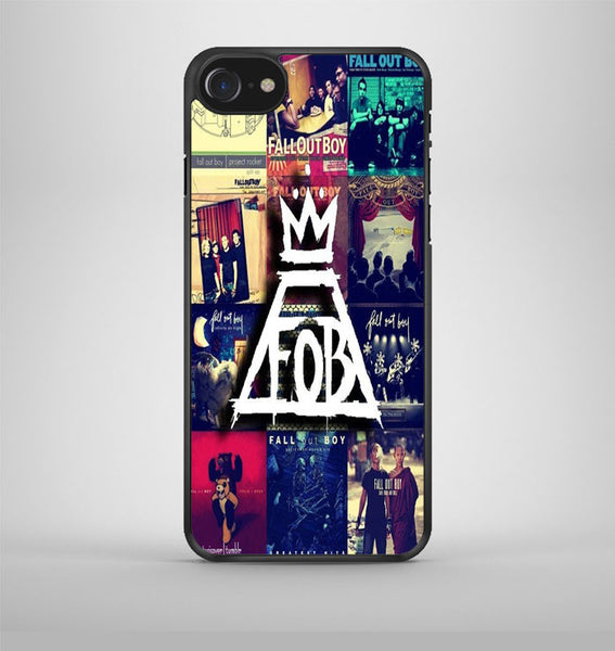 Fall Out Boy Collage iPhone 7 Case Avallen