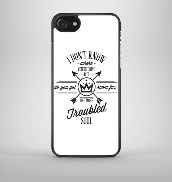 Fall Out Boy Lyric Cover iPhone 7 Case Avallen