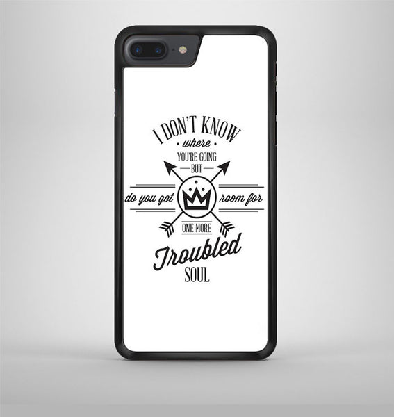 Fall Out Boy Lyric Cover iPhone 7 Plus Case Avallen
