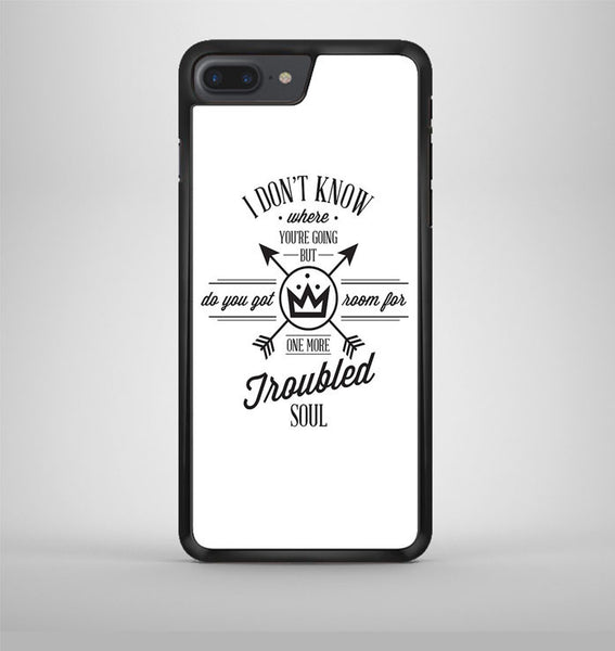 Fall Out Boy Lyric iPhone 7 Plus Case Avallen