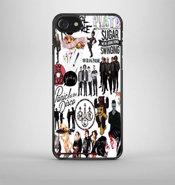 Fall Out Boy Panic At The Disco iPhone 7 Case Avallen