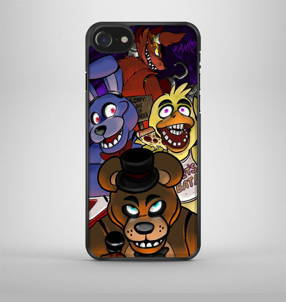 Five Nights At Freddy's Characters iPhone 7 Case Avallen