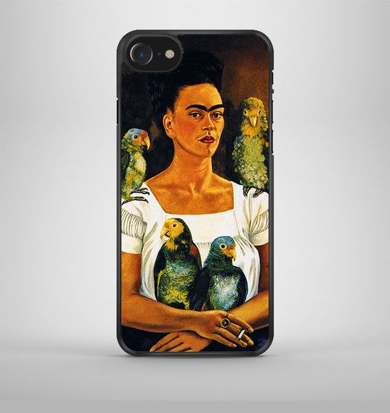 Frida Kahlo Self Portrait iPhone 7 Case Avallen