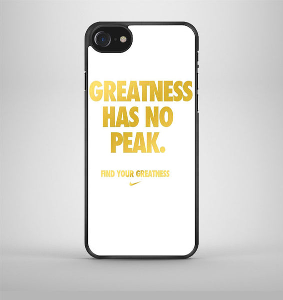 Greatness Has No Peak iPhone 7 Case Avallen