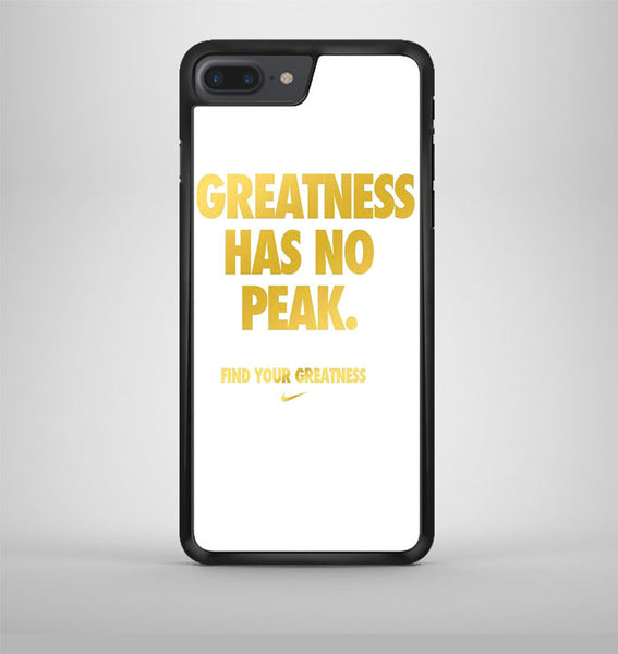 Greatness Has No Peak iPhone 7 Plus Case Avallen