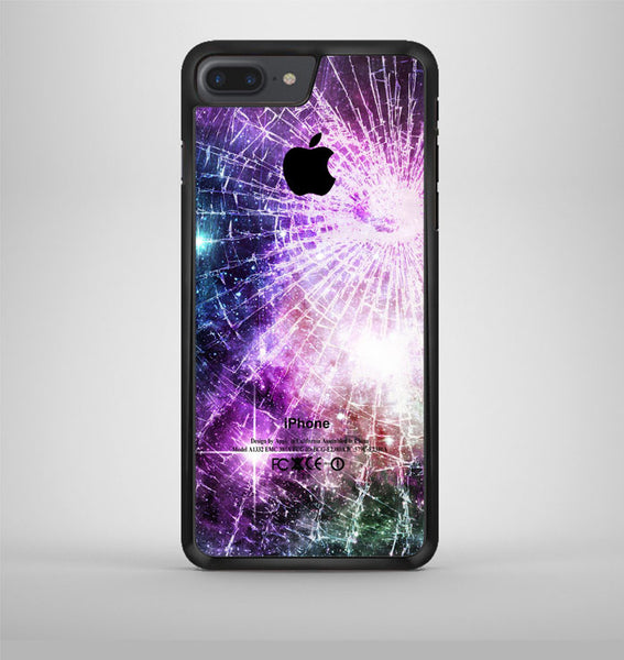 Galaxy Nebula Cracked Out Broken Glass iPhone 7 Plus Case Avallen