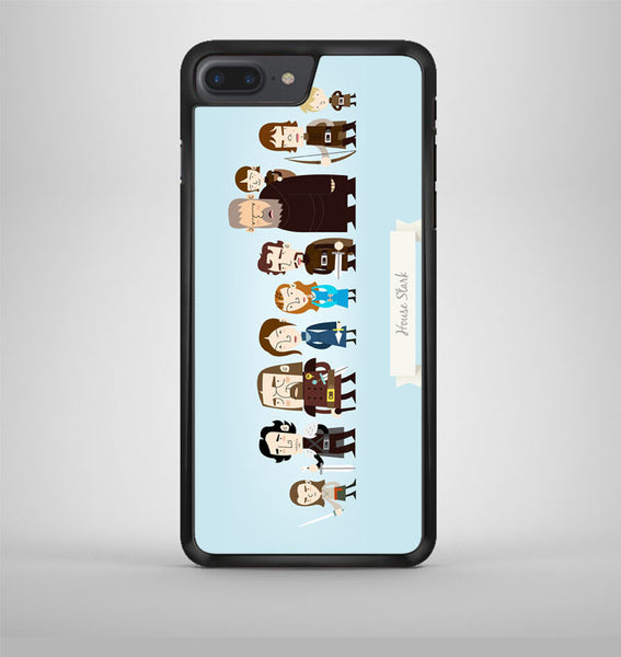 Game Of Thrones House Stark Family iPhone 7 Plus Case Avallen