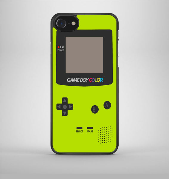 Gameboy Green Color iPhone 7 Case Avallen