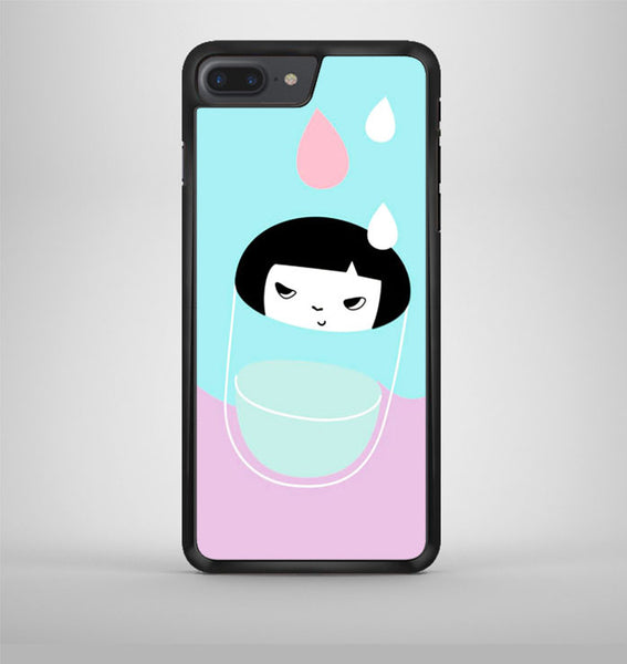 Girl In The Glass iPhone 7 Plus Case Avallen