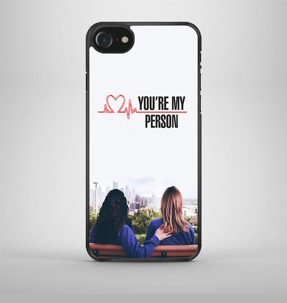 Greys Anatomy You're My Person iPhone 7 Case Avallen