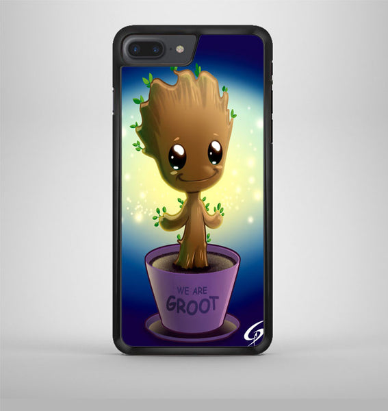 Guardian Of The Galaxy Baby Groot Dancing 02 iPhone 7 Plus Case Avallen