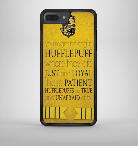 Harry Potter Hufflepuff Crest iPhone 7 Plus Case Avallen