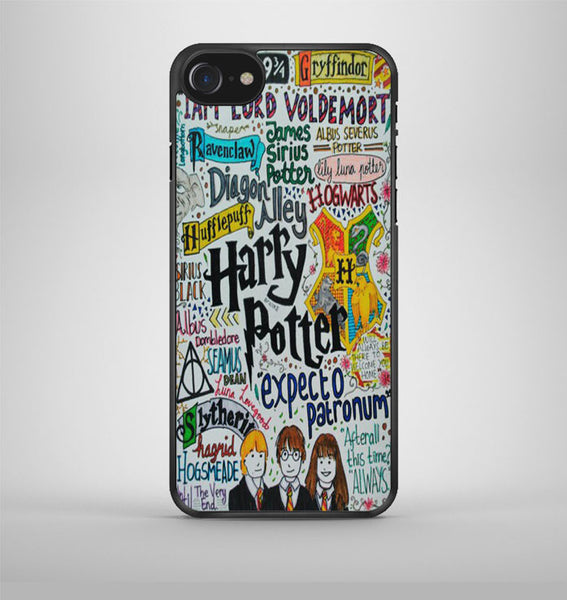 Harry Potter and Hermione Collage iPhone 7 Case Avallen