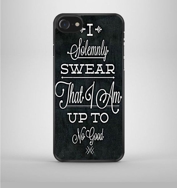 I Solemnly Swear That I Am Black iPhone 7 Case Avallen