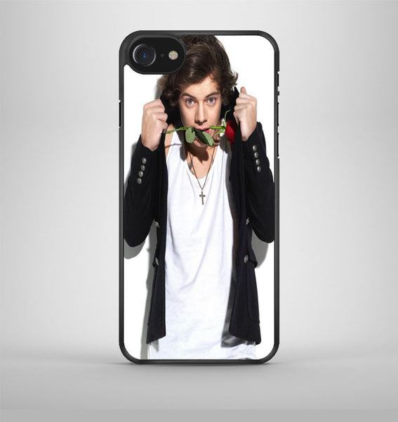 Harry Styles And The Rose iPhone 7 Case Avallen
