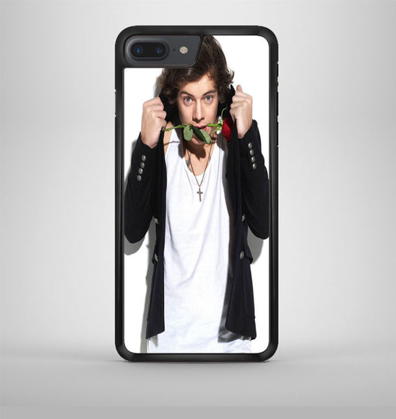 Harry Styles And The Rose iPhone 7 Plus Case Avallen