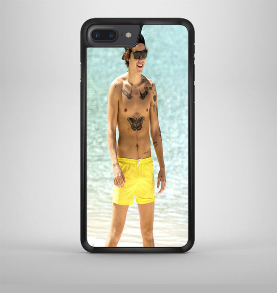 Harry Styles Yellow Shorts iPhone 7 Plus Case Avallen