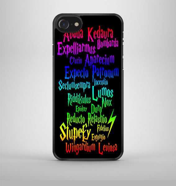 Harry Potter Movie Magic Spelling Quotes iPhone 7 Case Avallen