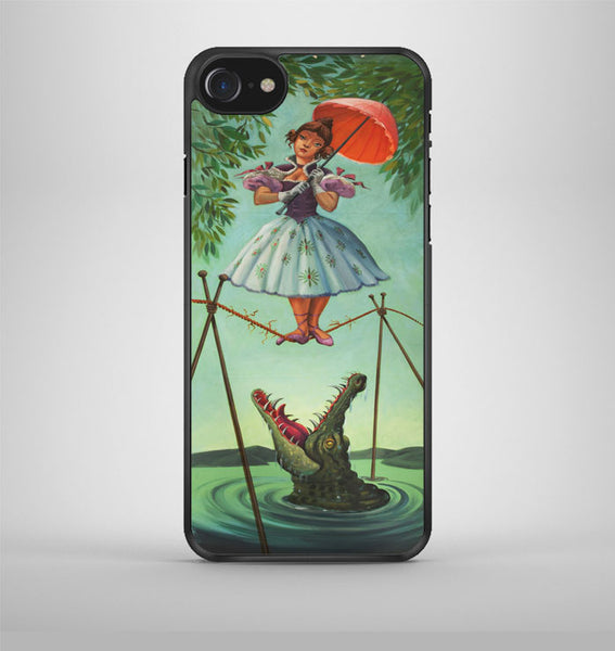 Haunted Mansion Stretching iPhone 7 Case Avallen