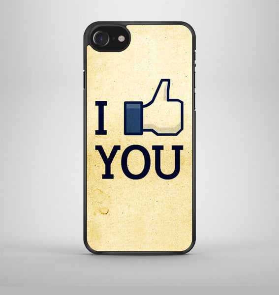 I Like You Facebook iPhone 7 Case Avallen