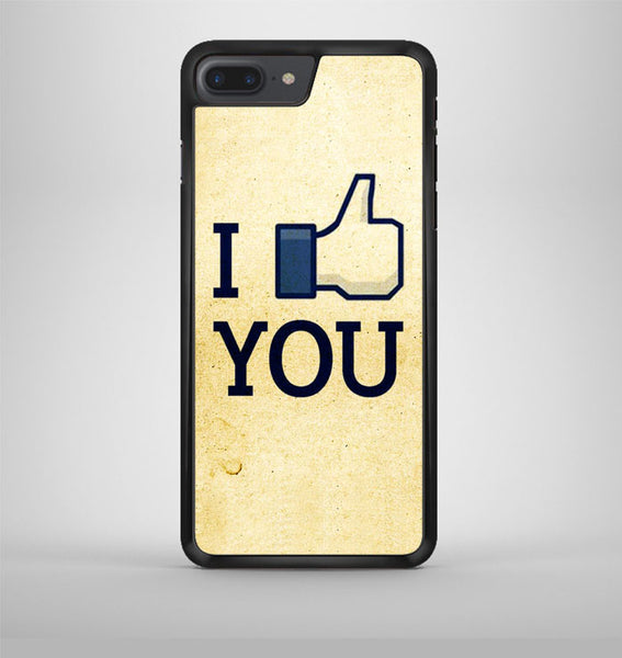 I Like You Facebook iPhone 7 Plus Case Avallen