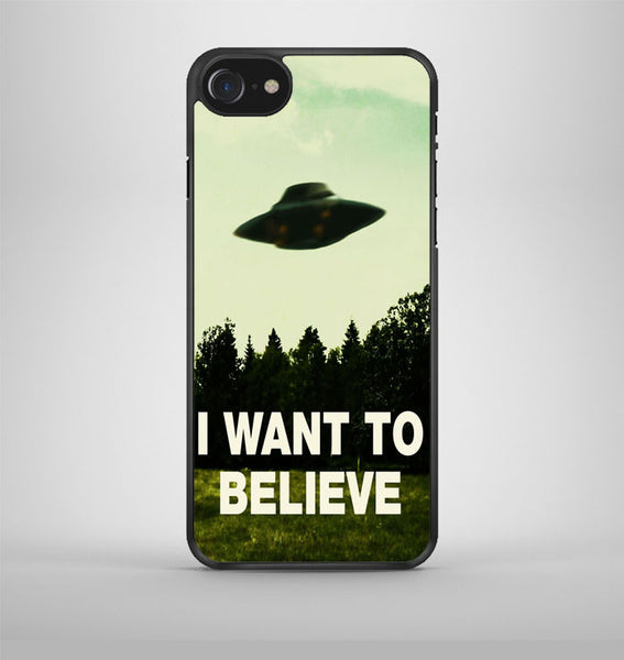I Want to Believe Tardis Box iPhone 7 Case Avallen