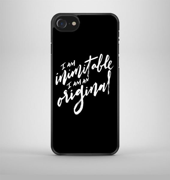 I am Inimitable I am an Original Hamilton iPhone 7 Case Avallen