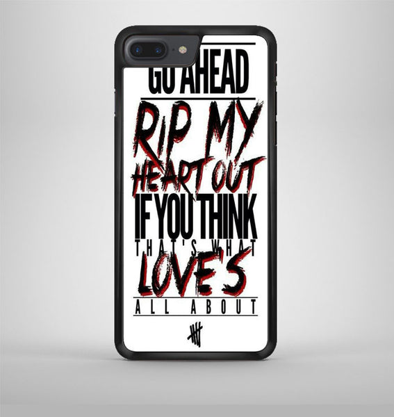 If You Dont Know 5 Sos iPhone 7 Plus Case Avallen