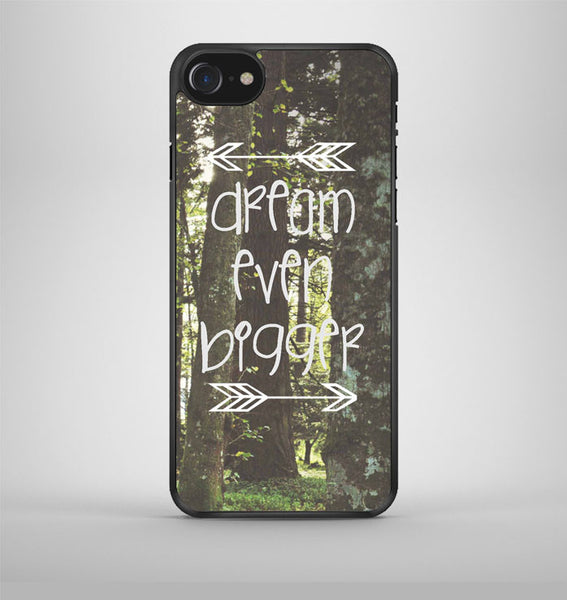 Inspirational Woodland Quote Big Dream iPhone 7 Case Avallen