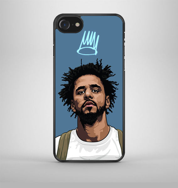 J Cole Forest Cartoon iPhone 7 Case Avallen