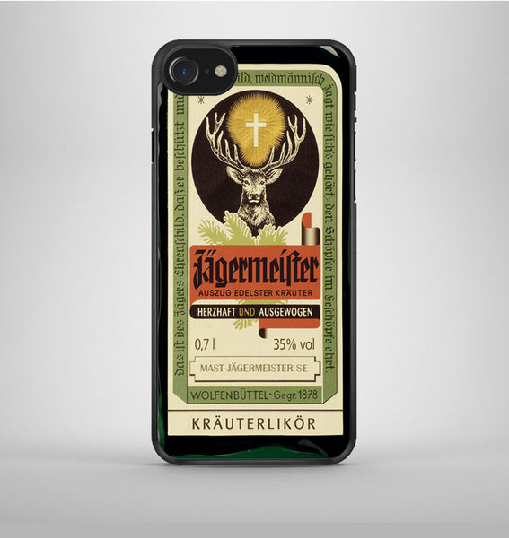 Jagermeister Retro Bottle iPhone 7 Case Avallen
