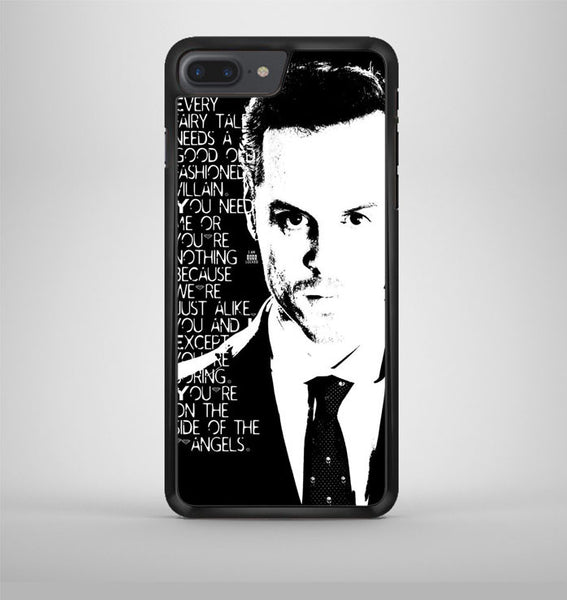Jim Moriarty Famous Quote iPhone 7 Plus Case Avallen