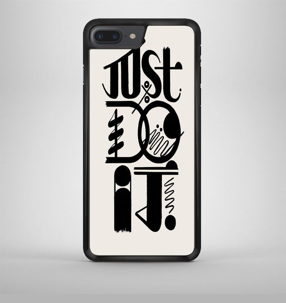 Just Do It Typography iPhone 7 Plus Case Avallen