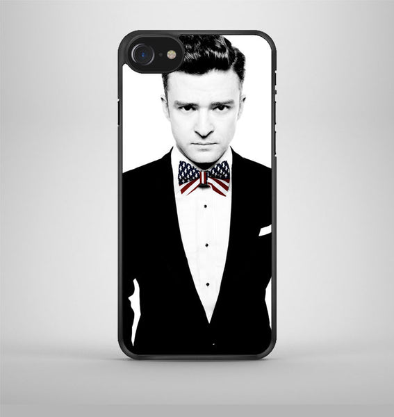 Justin Timberlake American Flag Tie Style iPhone 7 Case Avallen