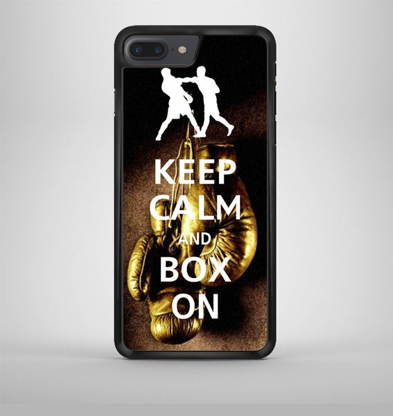 Keep Calm Wwe Boxing Gloves iPhone 7 Plus Case Avallen