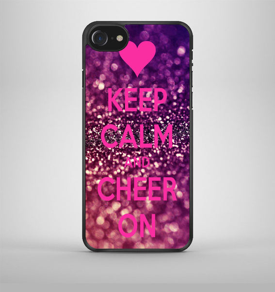 Keep Calm And Cheer On Cheerleading iPhone 7 Case Avallen